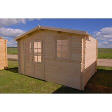 Optima 13 Ft. W x 13 Ft. D Solid Wood Garden Shed