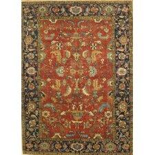 Serapi Heriz Hand-Knotted Wool Traditional Area Rug