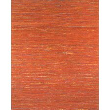 Sari Silk Light Red Area Rug