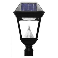 Imperial II 21-LED Solar Light Fixture on Three-Inch-Diameter Pole Fitter