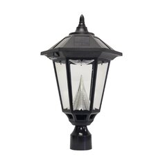 Windsor Eleven-LED Solar Light Fixture on Three-Inch-Diameter Pole Fitter