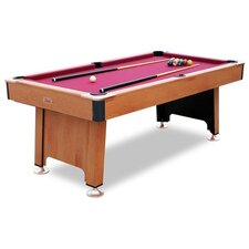 Fairfaxt 7' Pool Table with Ball Return