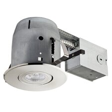 "LED Integrated Swivel Spotlight 4"" Recessed Kit"