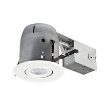 "LED Integrated IC Rated Swivel Spotlight 5"" Recessed Kit"