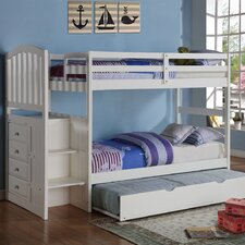 Donco Kids Twin Standard Bunk Bed with Trundle