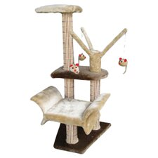 "34"" Lounger Climbing Cat Tree"