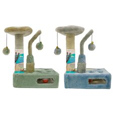 Hide and Seek Kitty Sisal Scratching Post (Set of 2)