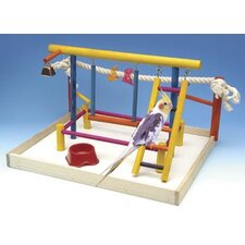 Extra Large Wooden Playground Bird Activity Center