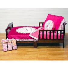 Sophia Lolita 4 Piece Toddler Bedding Set