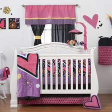 Sassy Shaylee 8 Piece Crib Bedding Set