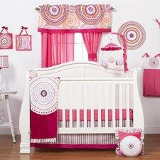 Sophia Lolita 3 Piece Crib Bedding Set