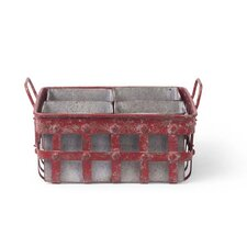 French Market Lattice Caddy