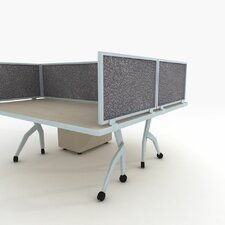 Acoustical Desk Mounted Privacy Panel