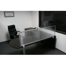 """18"""" Desk Mounted Privacy Panel"""