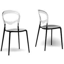Baxton Studio Orlie Side Chair (Set of 2)