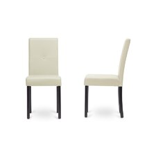 Baxton Studio Curtis Parsons Chair (Set of 2)