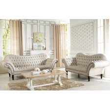 Bostwick Classic Victorian Sofa Set