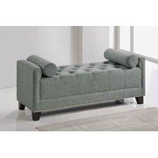 Baxton Studio Hirst Upholstered Bedroom Bench