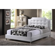 Carlotta Upholstered Panel Bed