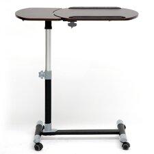 Baxton Studio Adjustable Laptop Cart with Tilt Control