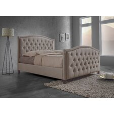 Baxton Studio Fawner Panel Bed