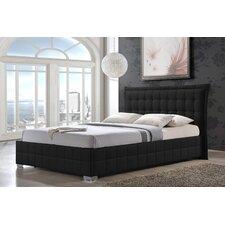 Monaco Upholstered Panel Bed