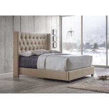 Baxton Studio Katherine Upholstered Platform Bed