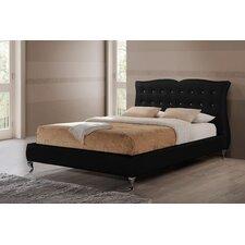 Baxton Studio Erin Upholstered Platform Bed