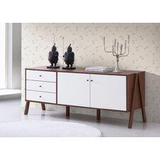 Harlow Mid-Century Modern Scandinavian Sideboard Storage Cabinet