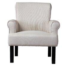 Baxton Studio Classics Wing Arm Chair