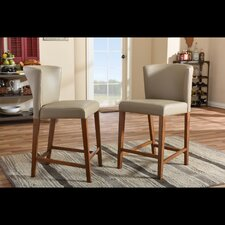 "Olivia 25"" Bar Stool (Set of 2)"