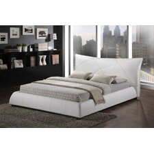 Baxton Studio Corie Upholstered Panel Bed