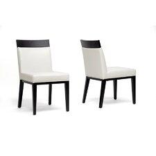 Baxton Studio Clymene Side Chair (Set of 2)