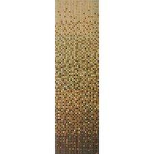 """Progressions 84"""" x 24"""" Glass Tile in Mocha Cream"""