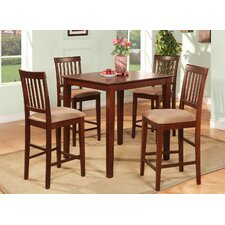 Vernon 5 Piece Counter Height Dining Set