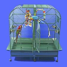 Dome Top Style Double Macaw Bird Cage