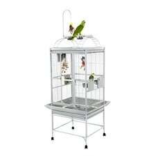 Small Play Top Bird Cage with Toy Hook