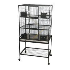 3 Level Small Animal Cage with Removable Base