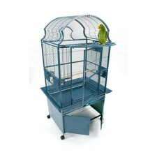 Small Fan Top Bird Cage