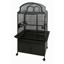 Large Fan Top Bird Cage
