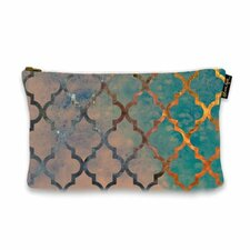 "6"" H x 9"" W Amour Arabesque Jewelry Pouch"