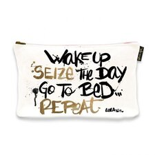 "6"" H x 9"" W Seize The Day Jewelry Pouch"