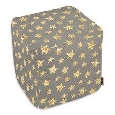 Gold Stars Ottoman