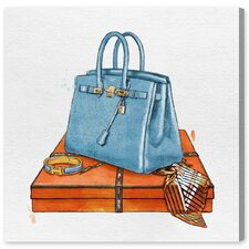 'My Bag Collection III' Painting Print on Canvas