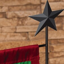 Country Star Garden Flagpole Stand
