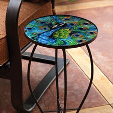 Peacock End Table