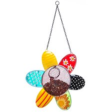 Dots and Blossoms Inspirational Flower Bird Feeder