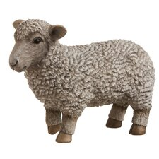 Young Sheep Statue