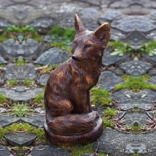Woodland Creatures Fox Statue