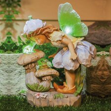 Petal Fairies Frog Kisses Statue